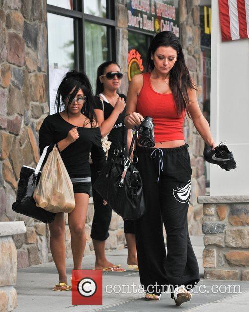 Nicole Polizzi, Jenni Farley and Sammi Giancola 7