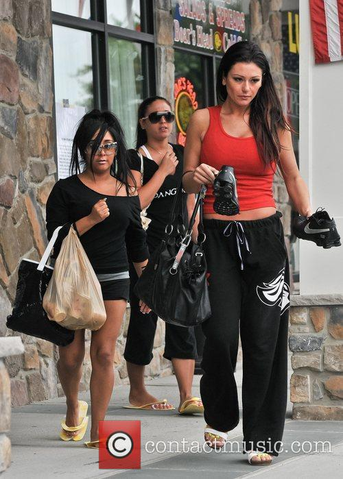 Nicole Polizzi, Jenni Farley and Sammi Giancola 10