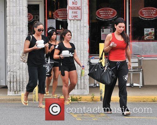 Sammi Giancola, Jenni Farley and Nicole Polizzi 9