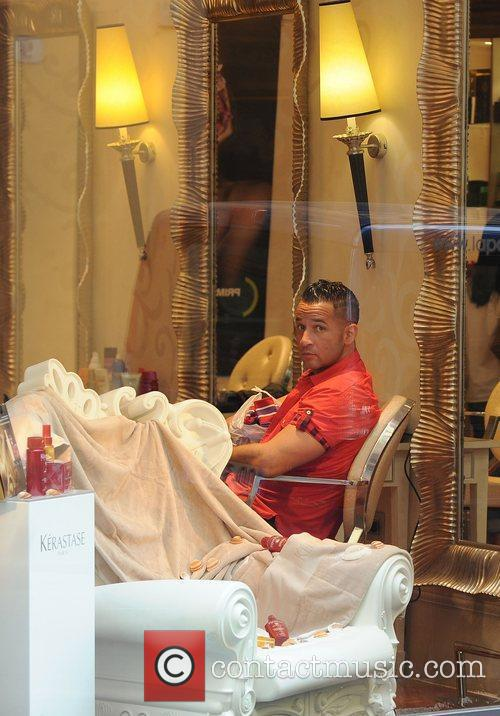 Mike The Situation Sorrentino Jersey Shore cast members...