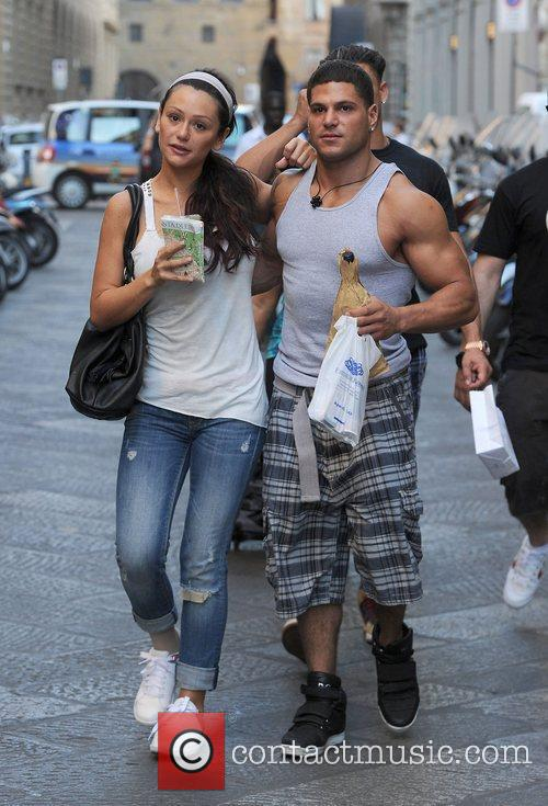 Accompanies Ronnie Ortiz-Magro to the Chemist to buy...