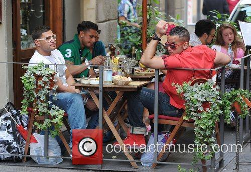 Ronnie Ortiz-Margo, Mike The Situation Sorrentino and Paul...