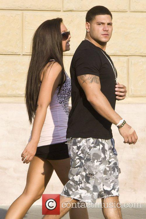 Jersey Shore stars, Ronnie Ortiz-Magro and Sammi Sweetheart...