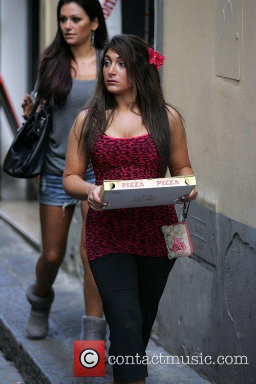 Deena Nicole Cortese The cast of 'Jersey Shore'...