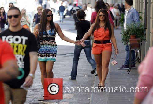Sammi Giancola aka 'Sweetheart' and Deena Nicole Cortese...