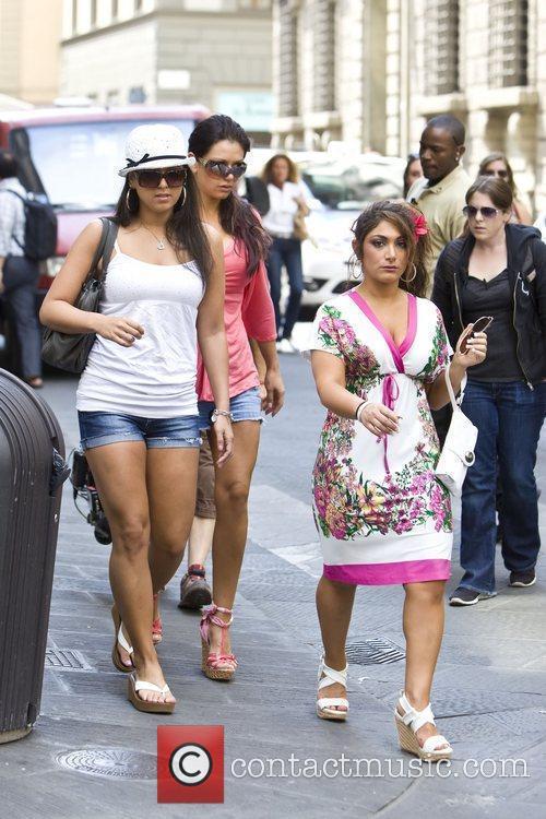 Sammi 'Sweetheart' Giancola, Jennifer 'JWoww' Farley and Deena...