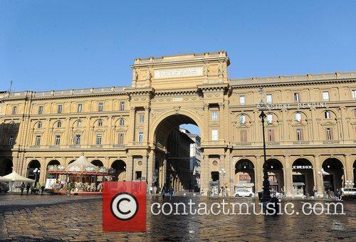 Piazza De Repubblica (Town Square) General views of...