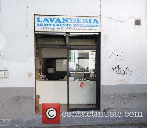 The Laundrette the cast use to wash their...