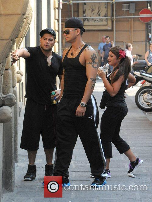 Ronnie Ortiz-Magro, Paul Pauly D DelVecchio and Deena...