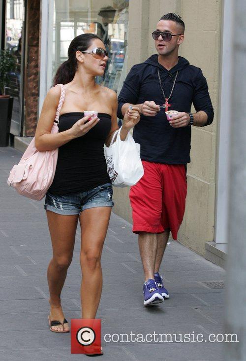 Jenni JWoww Farley and Mike The Situation Sorrentino...