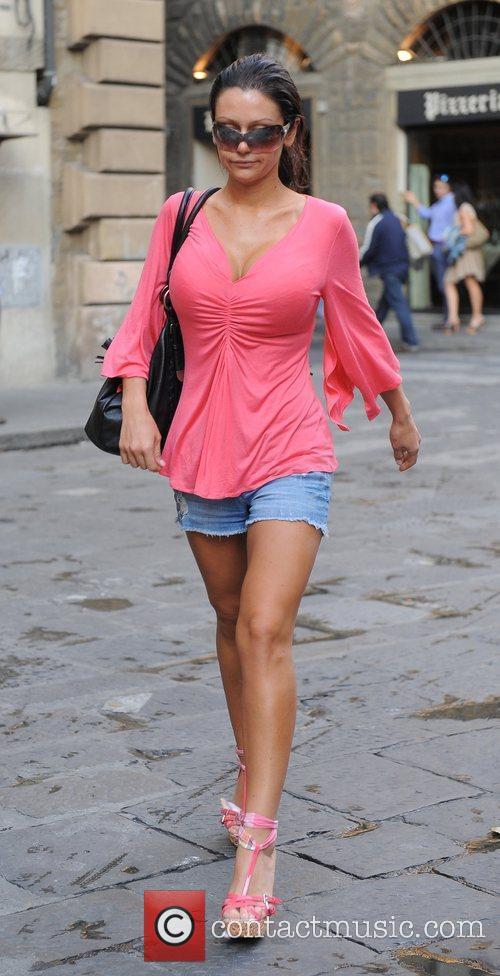 Jenni JWoww Farley Walking home through the town...