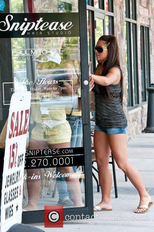 Sammi 'Sweetheart' Giancola and Deena Cortese 'Jersey Shore'...