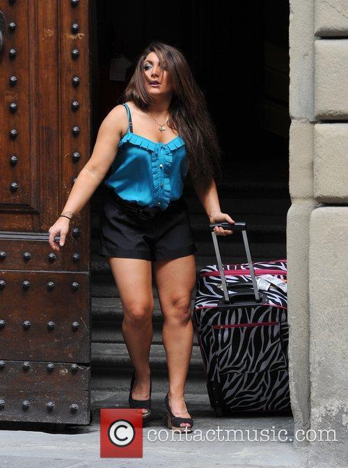 Deena Cortese 'Jersey Shore' cast members are seen...