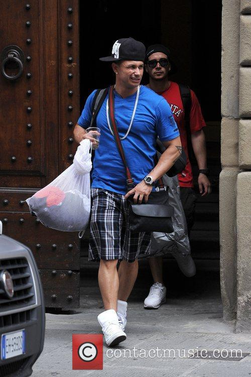 Pauly D 'Jersey Shore' cast members are seen...