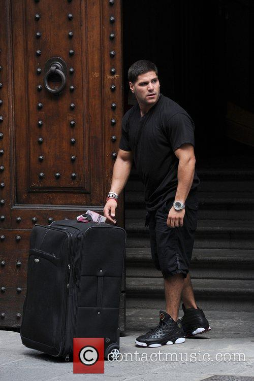 'Jersey Shore' cast members are seen leaving their...