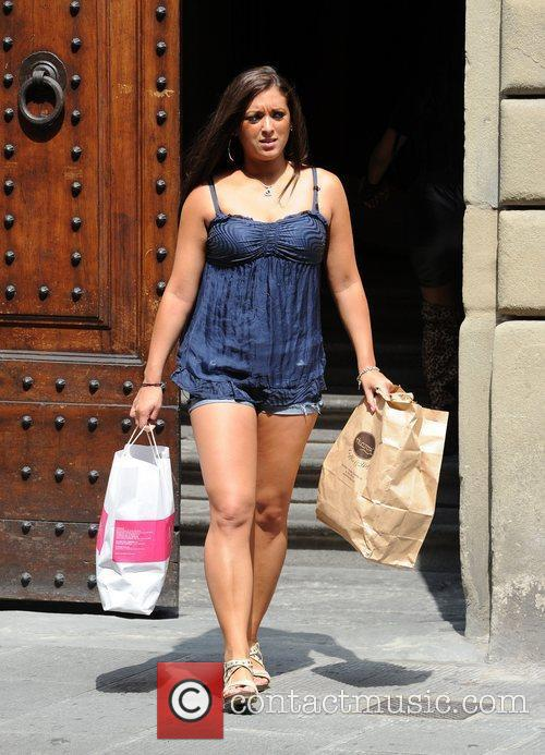 Sammi Giancola 'Jersey Shore' cast members are seen...