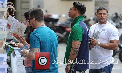 Ronnie Ortiz-Magro, Paul Pauly D DelVecchio, Jenni JWoww...