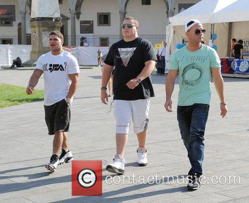 Jersey Shore cast members appear to have put...