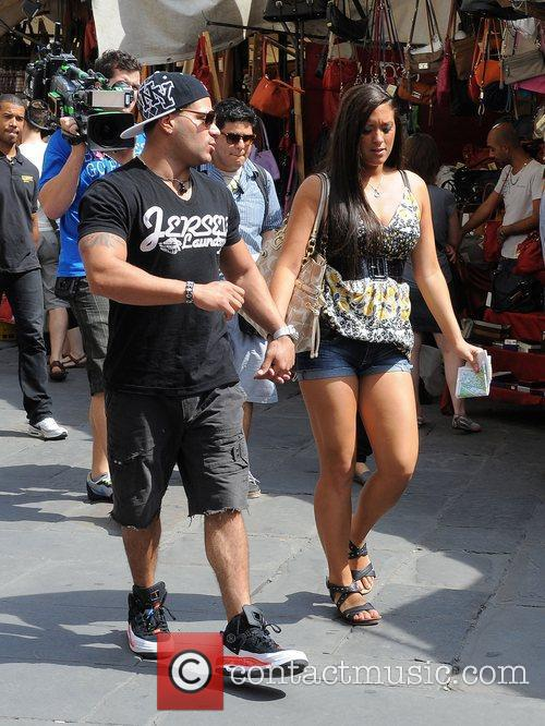 Ronnie Ortiz-Magro and Sammi Sweetheart Giancola Jersey Shore...