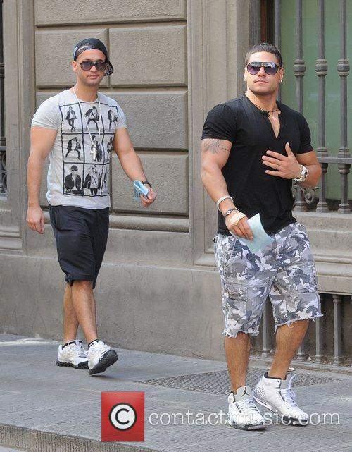 Pictures of Ronnie and The Situation together, before...