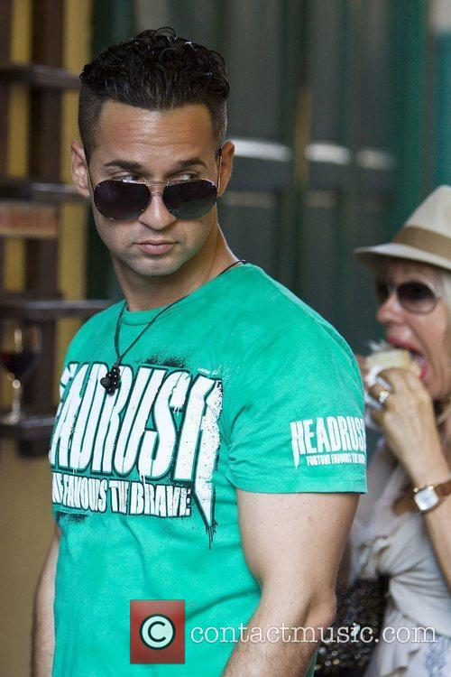 Mike The Situation Sorrentino, head out to the...