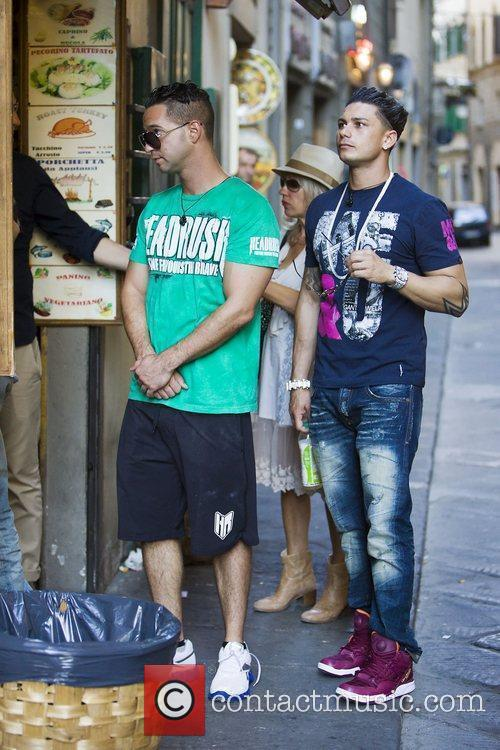 Paul Pauly D DelVecchio, Mike The Situation Sorrentino,...