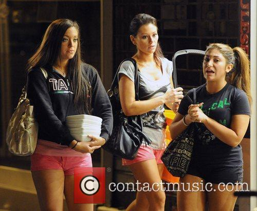 Sammi Sweetheart Giancola, Jenni JWoww Farley and Deena...