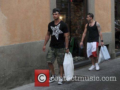 Jersey Shore cast members out and about in...
