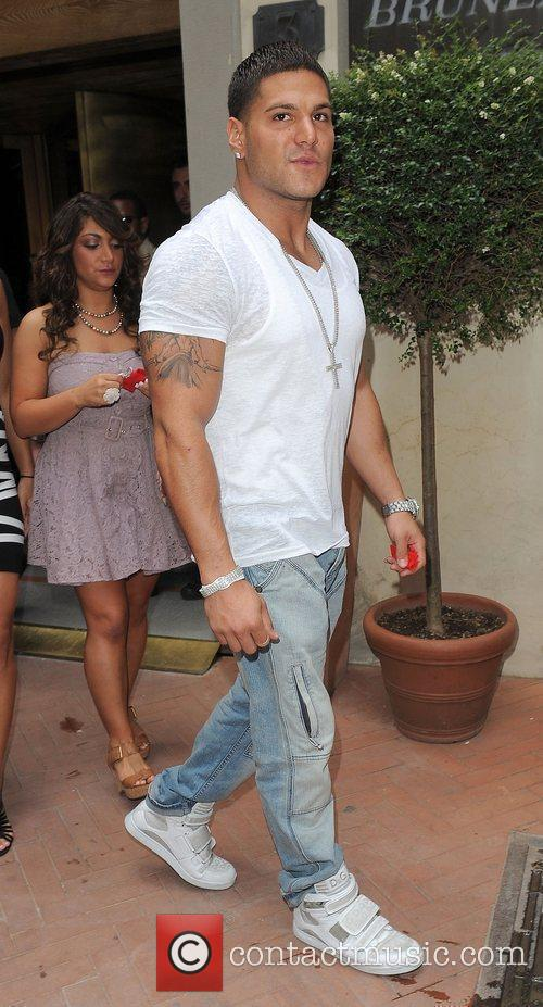 Ronnie Ortiz-Magro The cast of TV show Jersey...