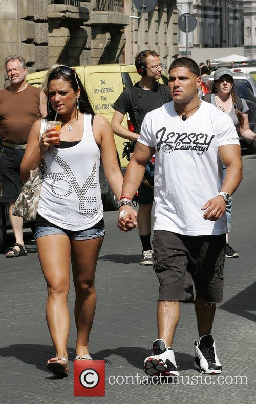 Sammi 'Sweetheart' Giancola and Ronnie Ortiz-Magro  'Jersey...