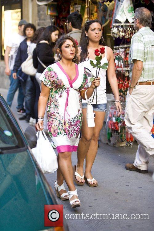 Deena Nicole Cortese and Sammi 'Sweetheart' Giancola of...