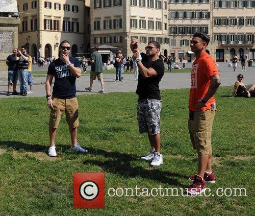 Ronnie Ortiz-Magro, Paul Pauly D DelVecchio and Vinny...