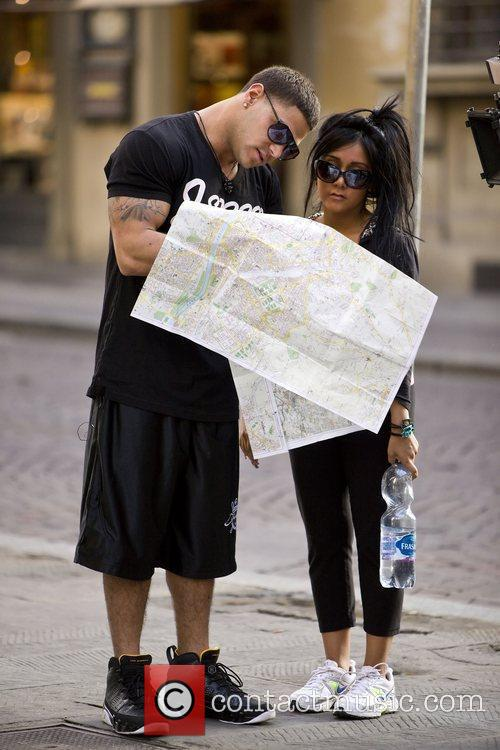 Nicole Polizzi and Jersey Shore 1