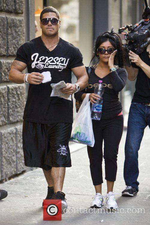 Nicole Polizzi and Jersey Shore 3