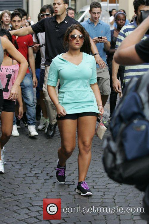 The 'Jersey Shore' cast are followed around the...