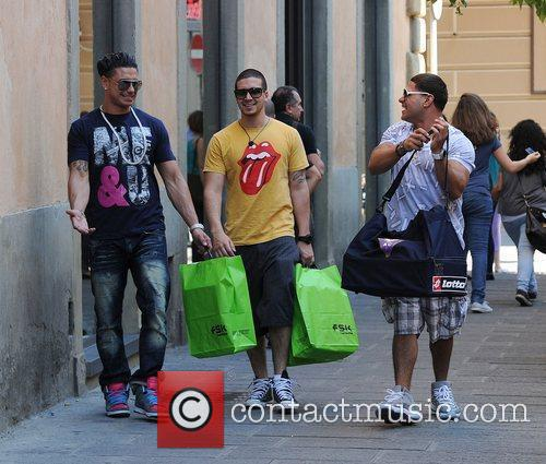 Paul Pauly D DelVecchio, Vinny Guadagnino and Ronnie...