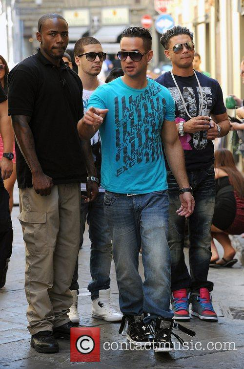 Vinny Guadagnino, Mike The Situation Sorrentino and Paul...