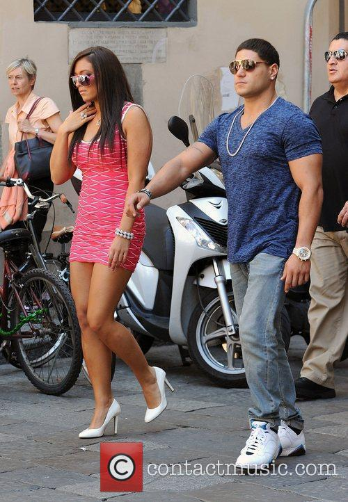 Sammi Sweetheart Giancola and Ronnie Ortiz-Magro Jersey Shore...