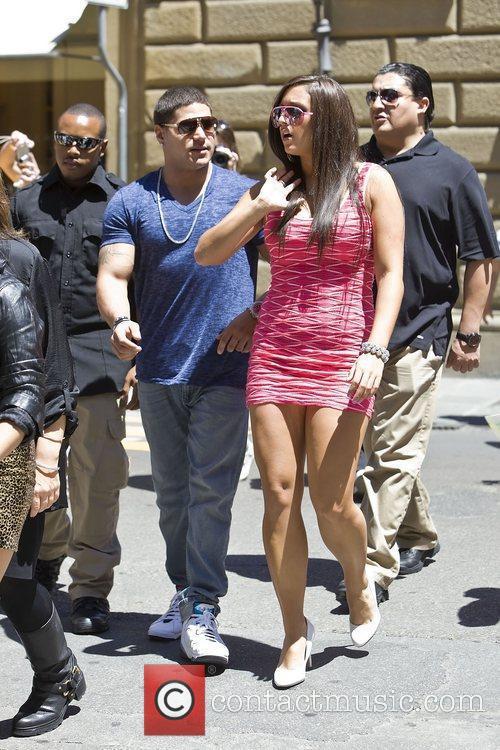 Ronnie Ortiz-Magro, Sammi Sweetheart Giancola Jersey Shore cast...