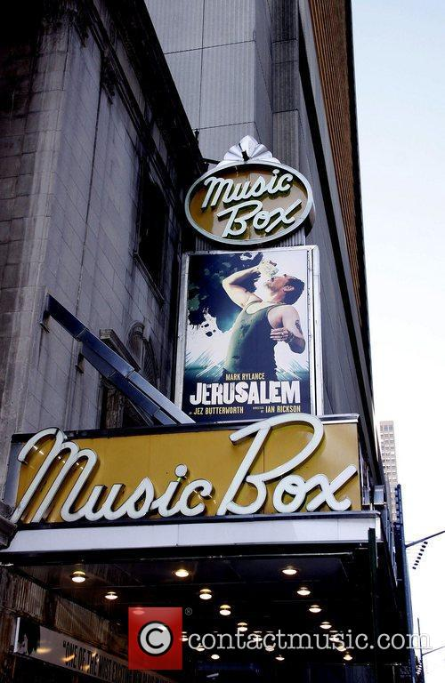 Opening night of the Broadway production of 'Jerusalem'...