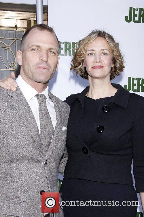 Joe Coleman and Janet McTeer Opening night of...