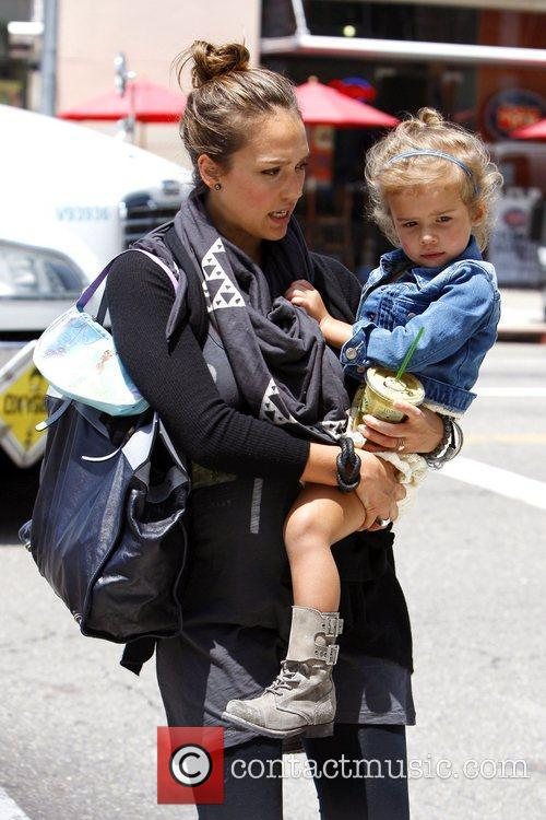 Jessica Alba and her daughter Honor Marie are...