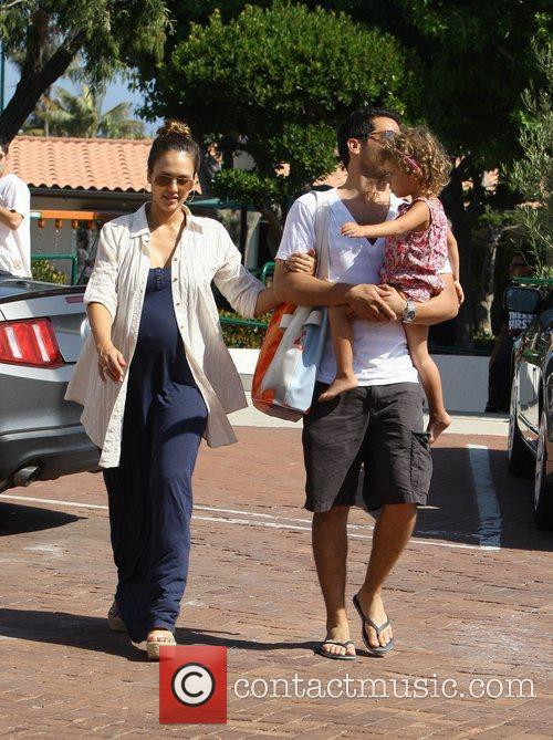 Jessica Alba and Cash Warren 2