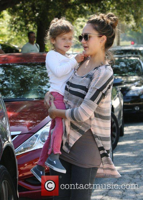 jessica alba and her daughter honor marie 3583015