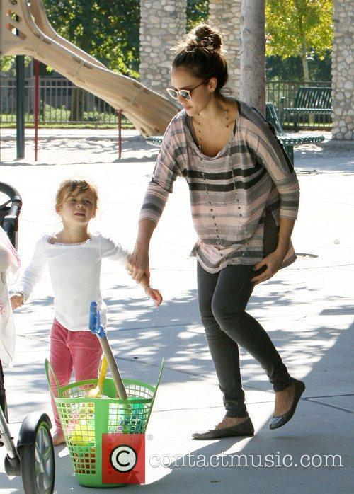 jessica alba and her daughter honor marie 3583016