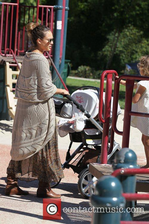 Jessica Alba and Cash Warren 85