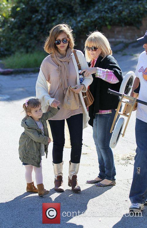 Jessica's mother Catherine Alba, Jessica Alba and Honor...