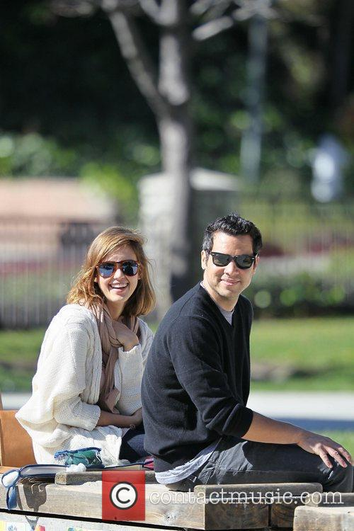 Jessica Alba and Cash Warren enjoy a family...