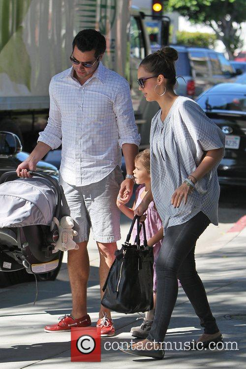 Jessica Alba and Cash Warren 21