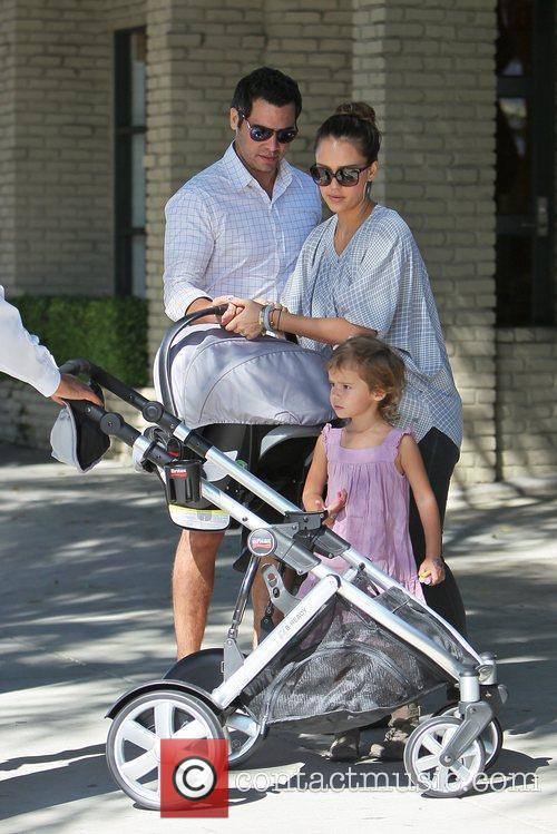 Jessica Alba and Cash Warren 50